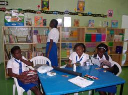 BMA renovated the library at Seaward Primary and Junior High School